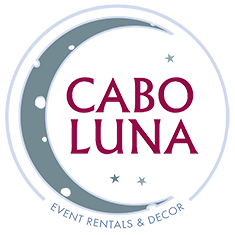 Cabo Luna Event Rentals and Decor Logo